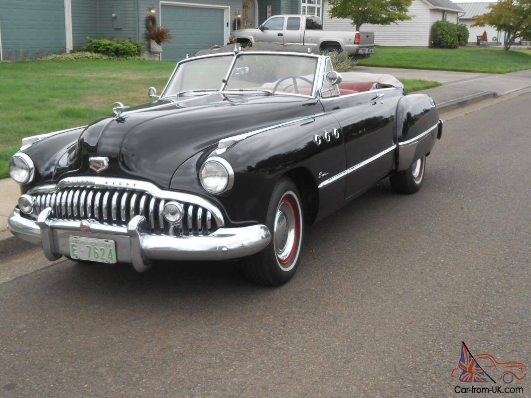 Rare 1949 buick super 56c convertible slopeback project for How much does it cost to list on ebay motors