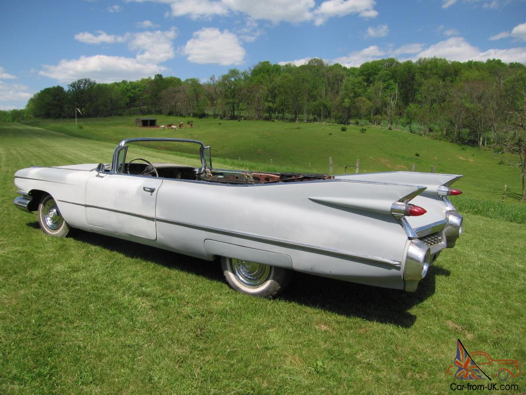 1959 Convertible Project For Sale