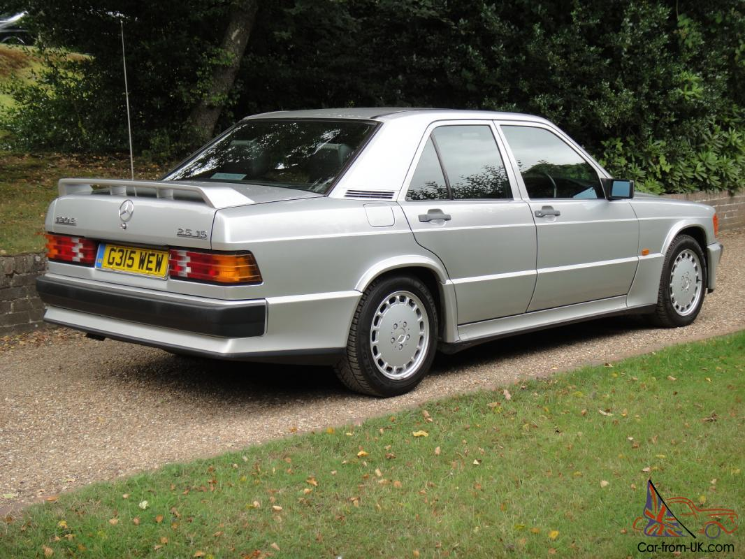 1989 mercedes benz 190e 2 5 16 cosworth dogleg manual for Mercedes benz 190e cosworth