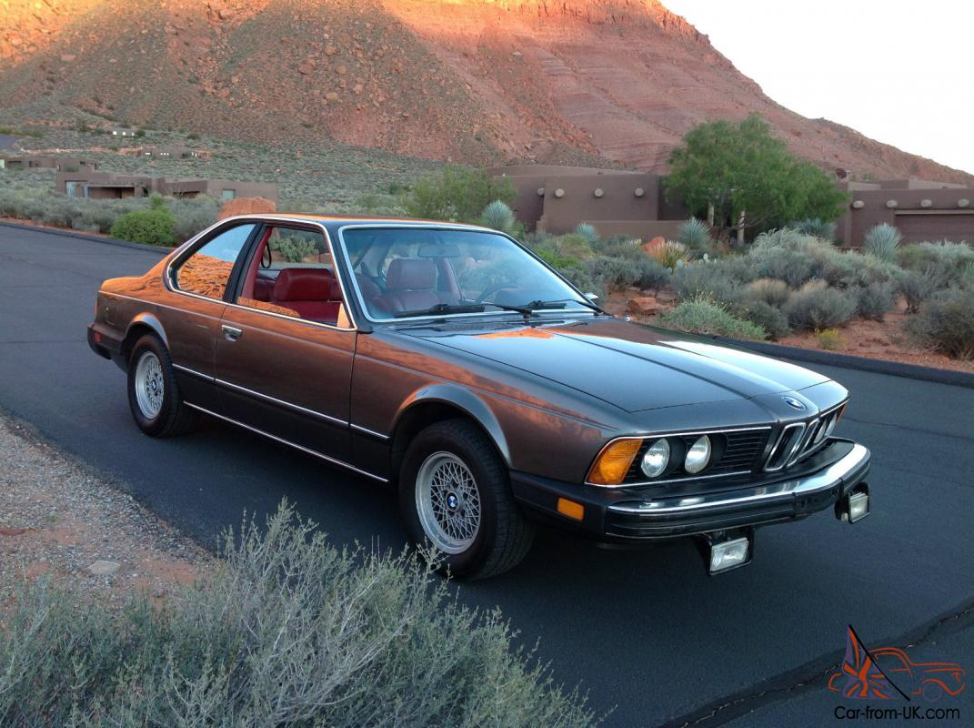 BMW Palm Springs >> 1979 BMW 633CSi Base Coupe 2-Door 3.2L
