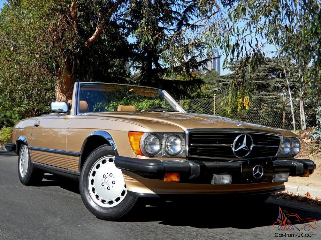 1 owner original 1987 mercedes benz 560sl with only 75k