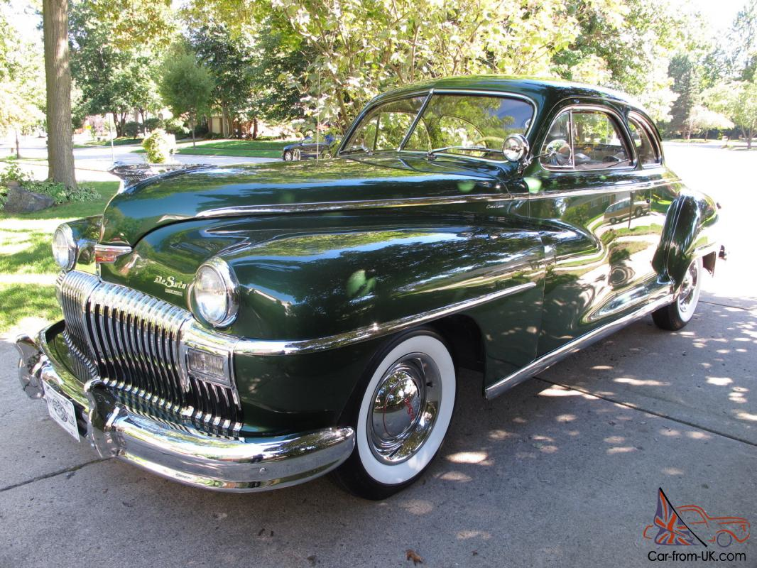 1948 DeSoto Custom - Completely Original - Show Quality Condition - Must  See Photo