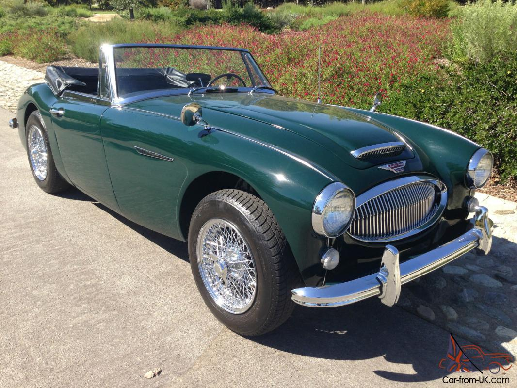 austin healey 3000 mk3 bj 8 phase 2 sports convertible. Black Bedroom Furniture Sets. Home Design Ideas