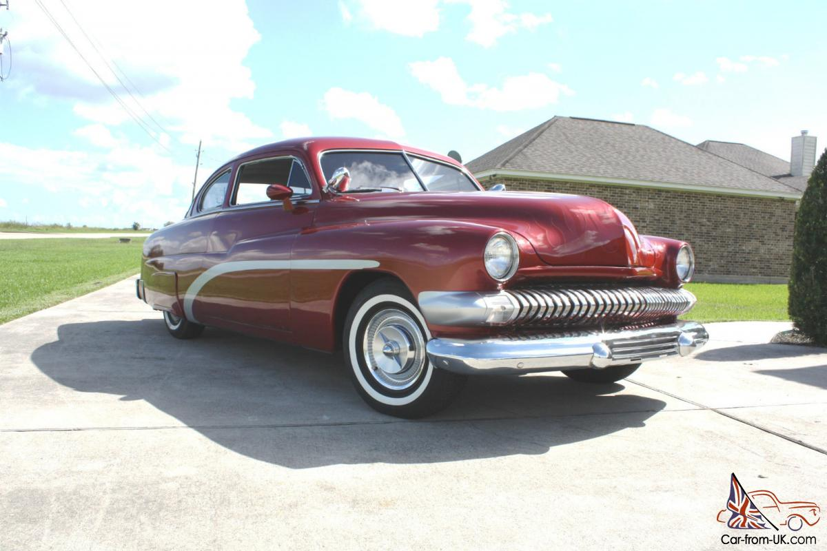 1951 mercury 2 door sedan
