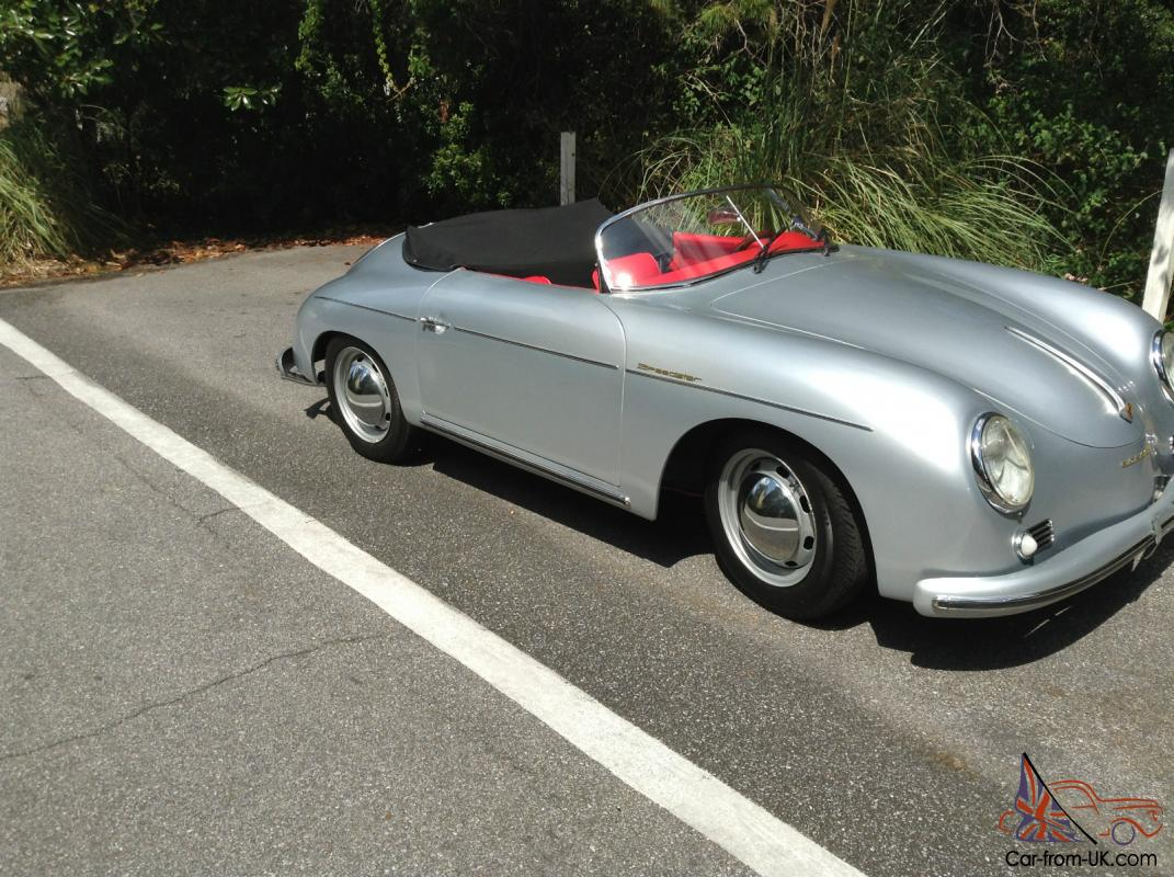 Porsche Speedster 356 New 56 57 58 59