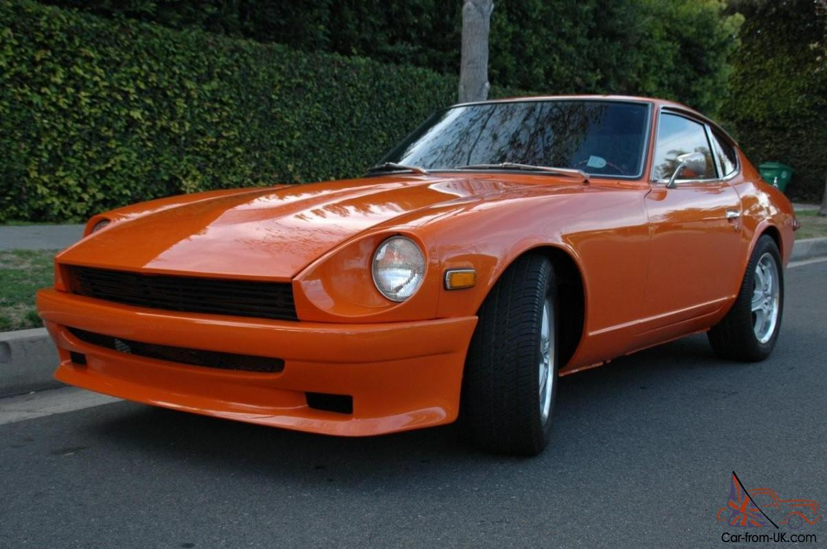 Awesome Custom 240z 240 Z Rust Free V8 Hot Rod Muscle Show Car Excellent Trade Photo