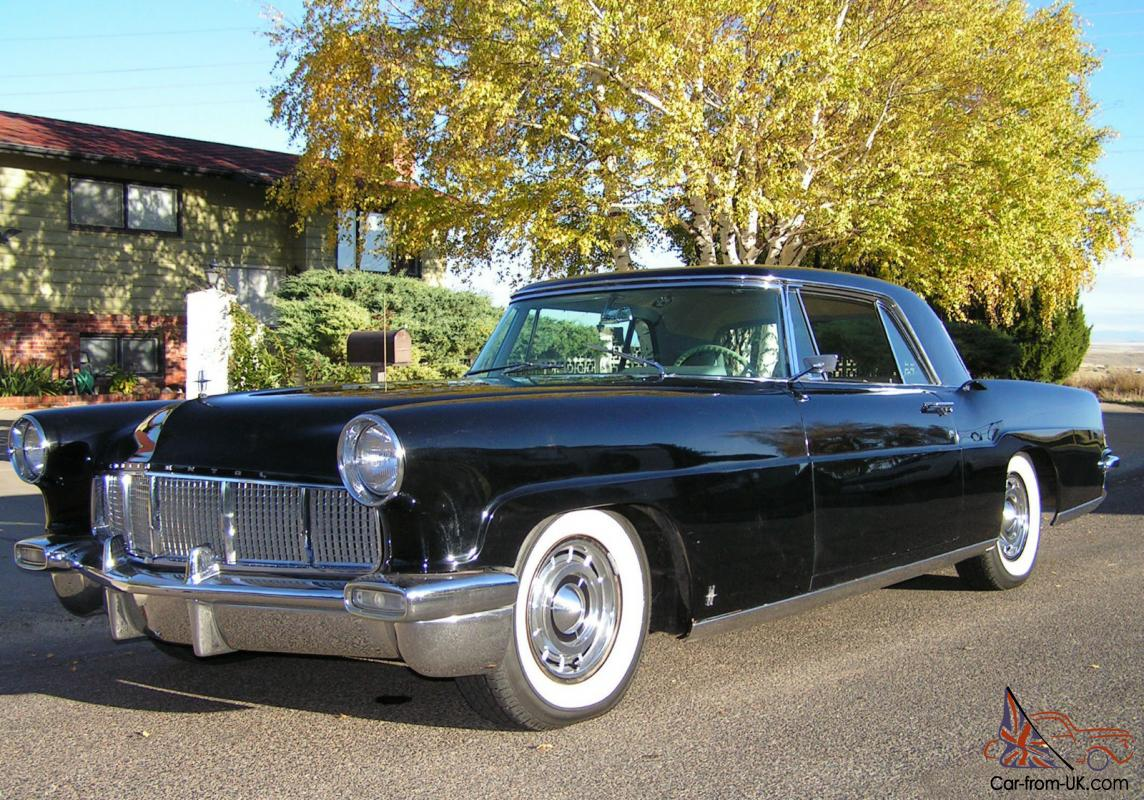 1956 lincoln continental mark ii air conditioning black beauty. Black Bedroom Furniture Sets. Home Design Ideas