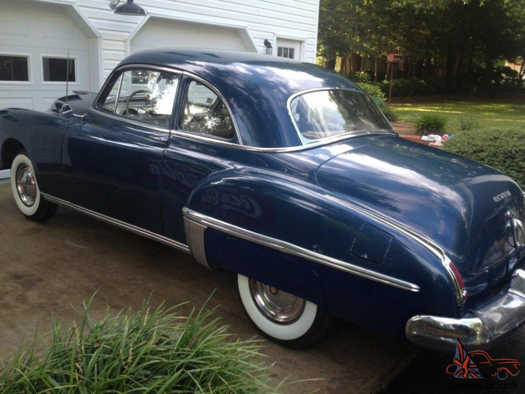 1949 Oldsmobile 76 Club Coupe Lo Miles Amazing Original Factory 1941 Stick