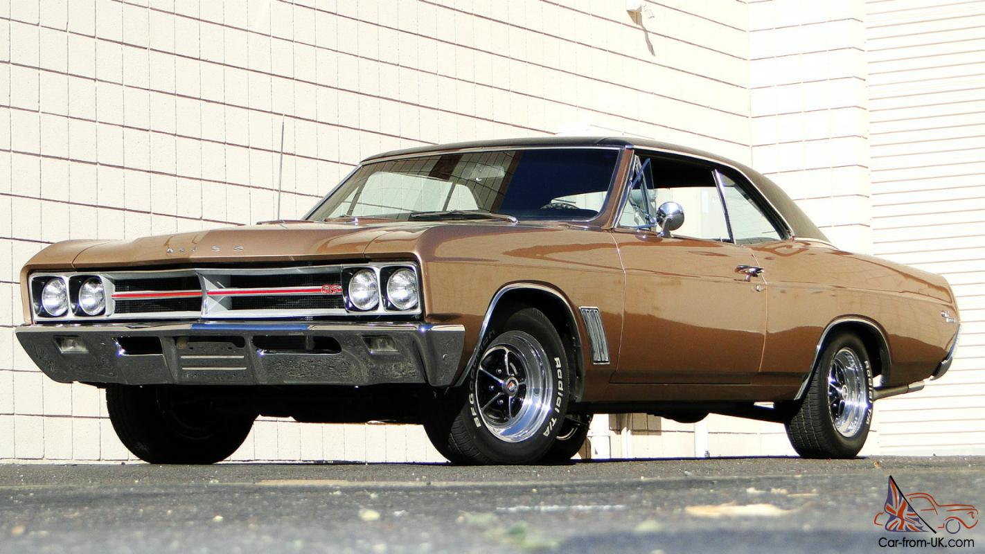 1967 BUICK GRAN SPORT 400 FACTORY 4 SPEED RUST FREE WEST COAST CAR ...