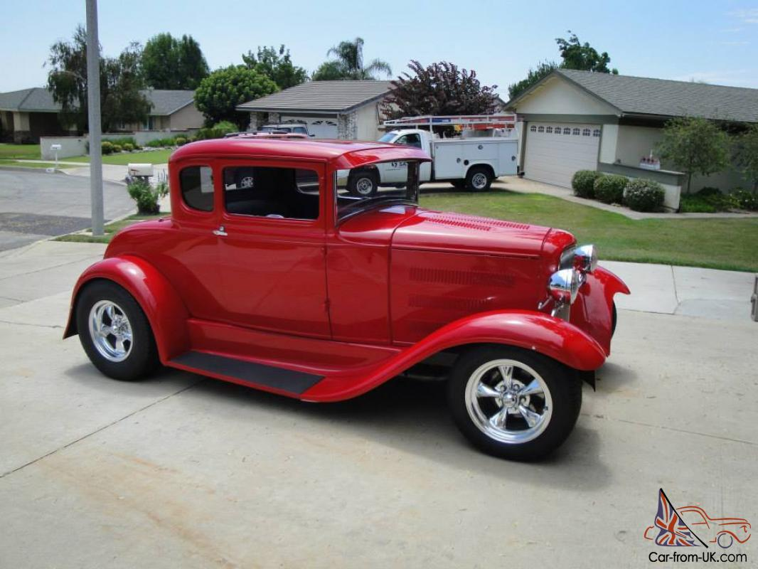 1931 ford model a street rod 5 window coupe all steel low for 1931 ford model a 5 window coupe