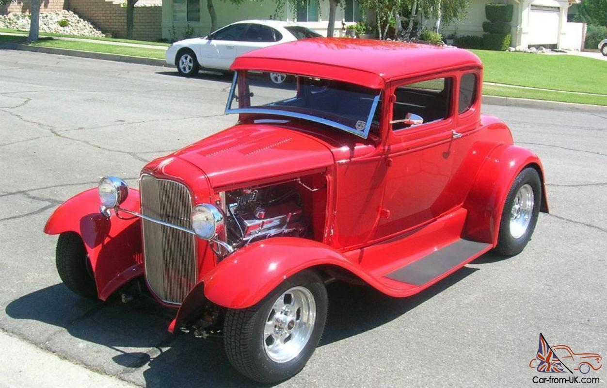 1931 ford model a street rod 5 window coupe all steel low. Black Bedroom Furniture Sets. Home Design Ideas