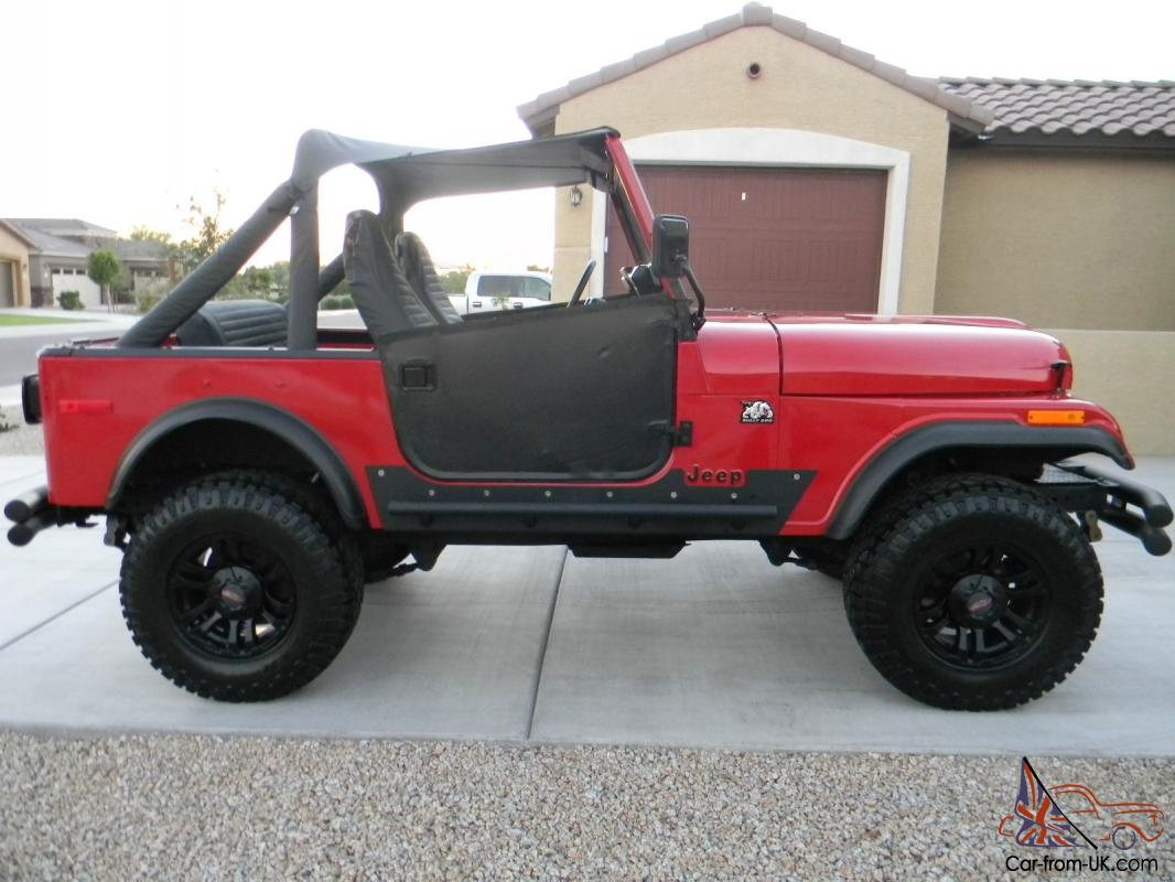 1978 Jeep CJ 7 NEW Restoration, NEW Motor, New Interior ... Awesome Condition!!!