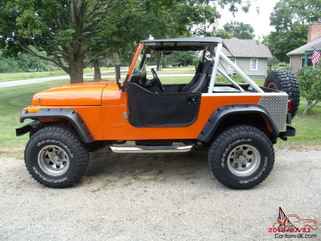 1988 jeep wrangler w 1995 inline 6 fuel injected 4 0 w 5 speed. Black Bedroom Furniture Sets. Home Design Ideas