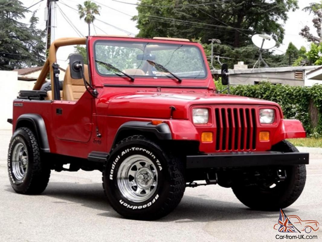 1987 jeep wrangler yj one owner low miles 6 cylinder 5 speed manual no reserve. Black Bedroom Furniture Sets. Home Design Ideas