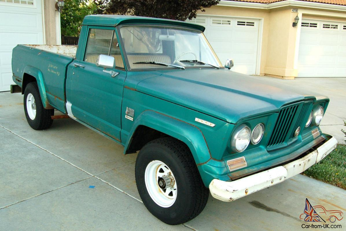 1967 jeep gladiator sprucetip green straight 6 great condition for