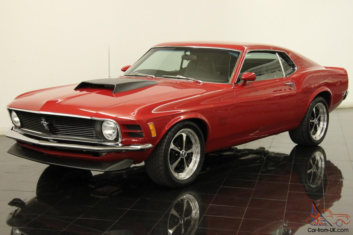 1970 ford mustang boss 429 pro touring tribute 800 hp v8 5 speed documented. Black Bedroom Furniture Sets. Home Design Ideas