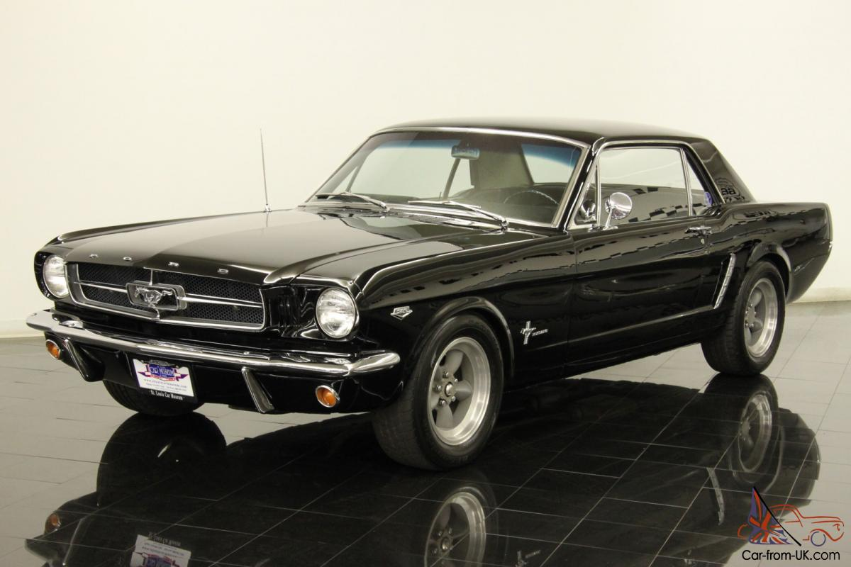rare 1964 ford mustang k code coupe numbers matching 289ci v8 4 speed 271 hp. Black Bedroom Furniture Sets. Home Design Ideas