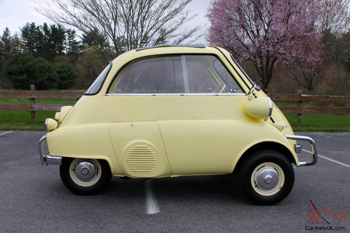 1958 Bmw Isetta 300 Perfect Car Was Featured At American