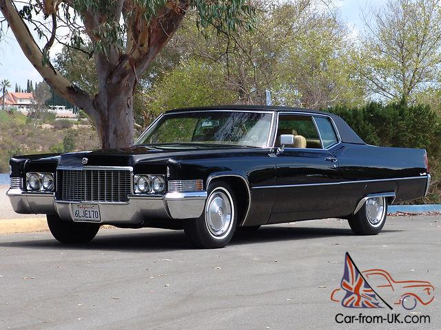 1970 Cadillac Coupe De Ville Immaculate Condition