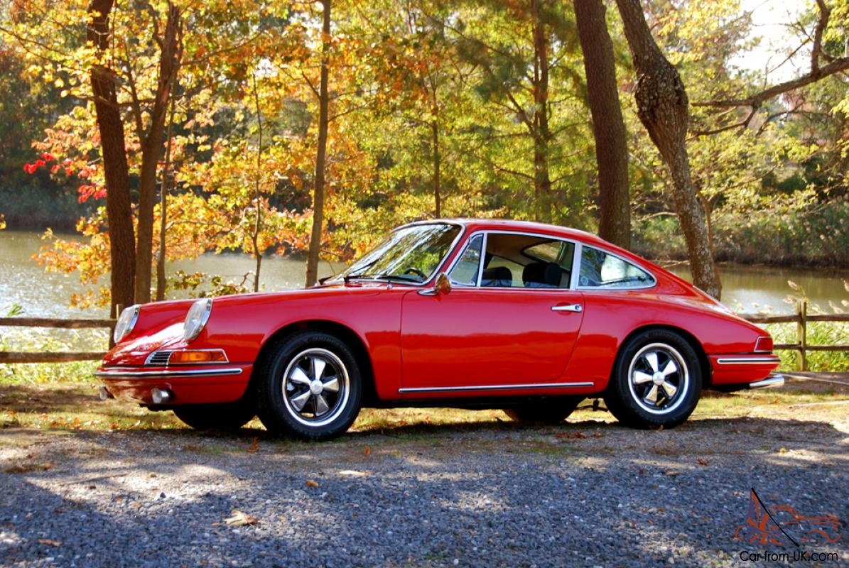 1968 guards red porsche 912 coupe. Black Bedroom Furniture Sets. Home Design Ideas