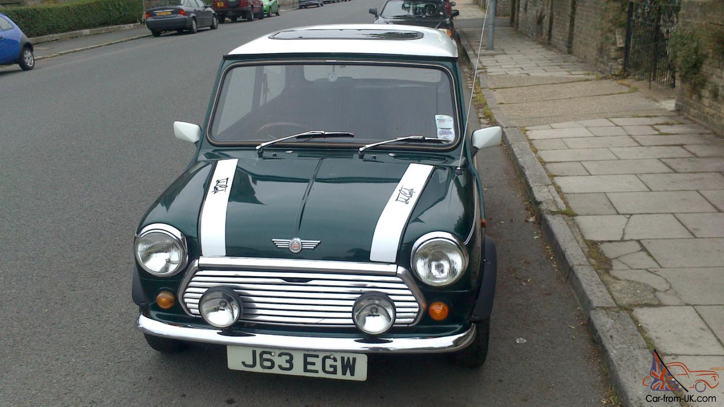 mini cooper. j reg. great condition. all original features. brand new