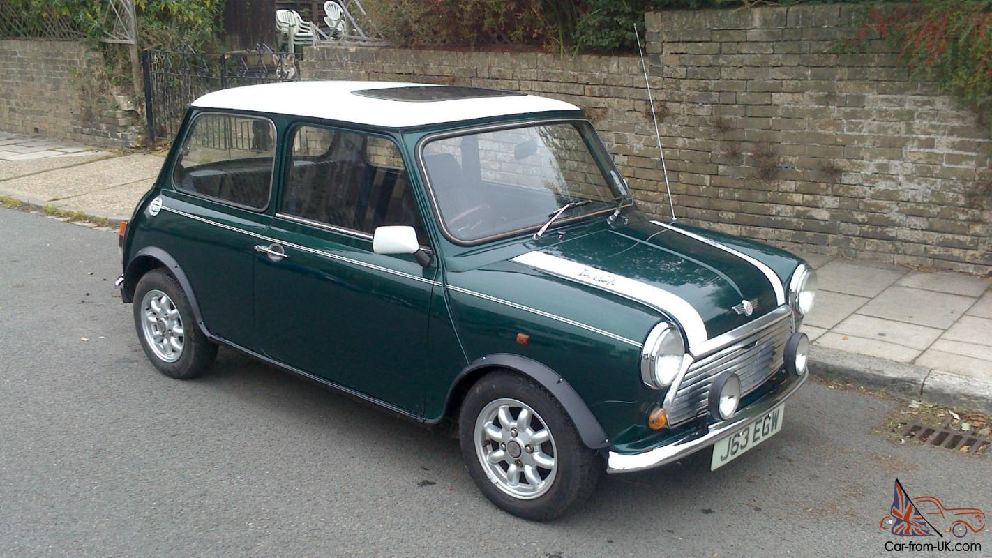 mini cooper j reg great condition all original features brand new brakes. Black Bedroom Furniture Sets. Home Design Ideas