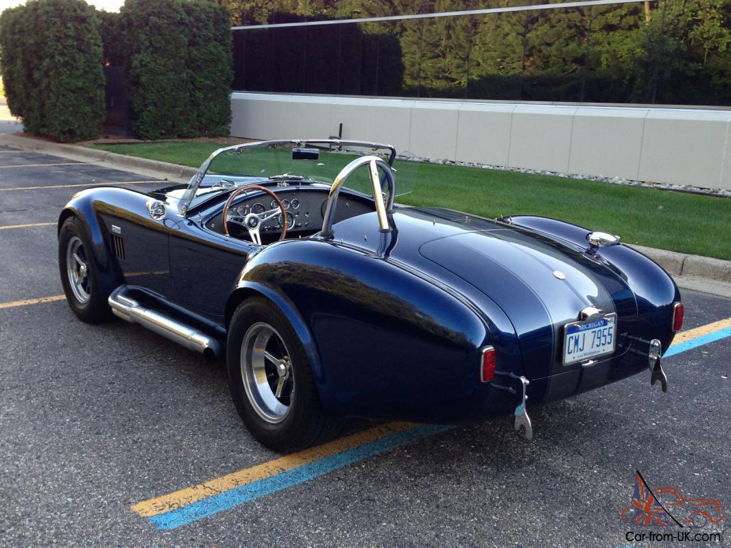 1965 superformance shelby ac cobra perfect condition indigo blue 2004 replica. Black Bedroom Furniture Sets. Home Design Ideas