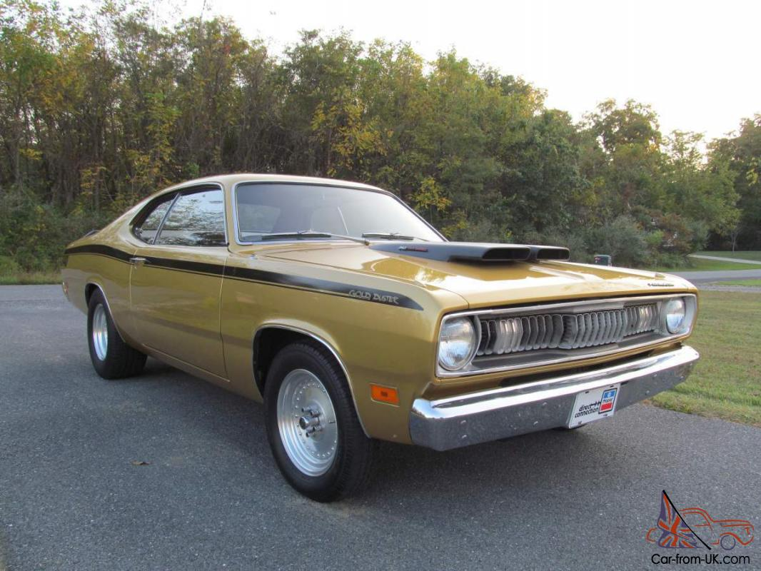 1971 Plymouth Duster 340 4spd....Rust Free!