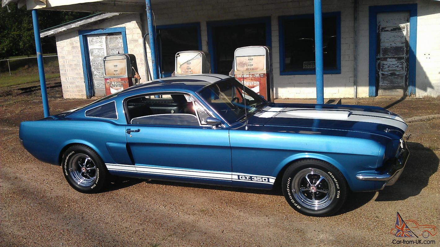 Paxton supercharged 1966 mustang fastback shelby gt350 clone