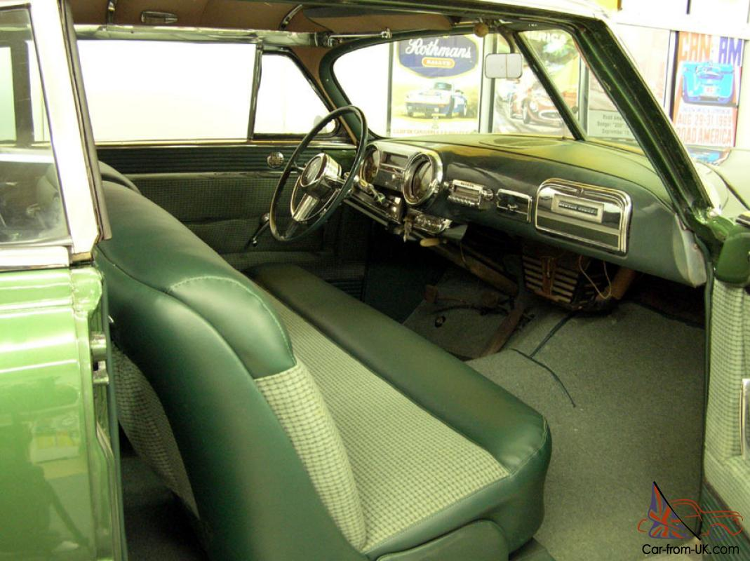 1953 hudson hornet hollywood twin h power two door hardtop for sale