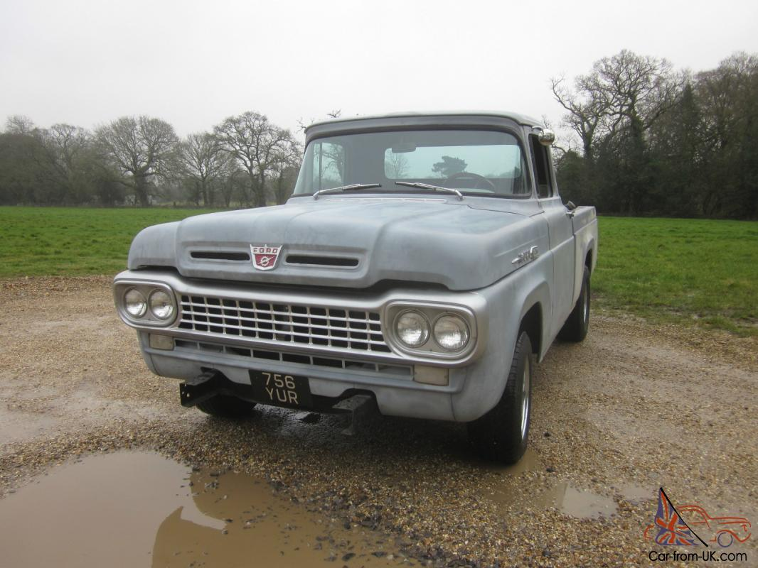 1958 ford f250 pick up manual 6 cylinder truck rust free american truck
