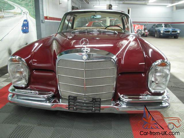 1965 mercedes benz 220 se coupe nice solid car for Nice mercedes benz cars