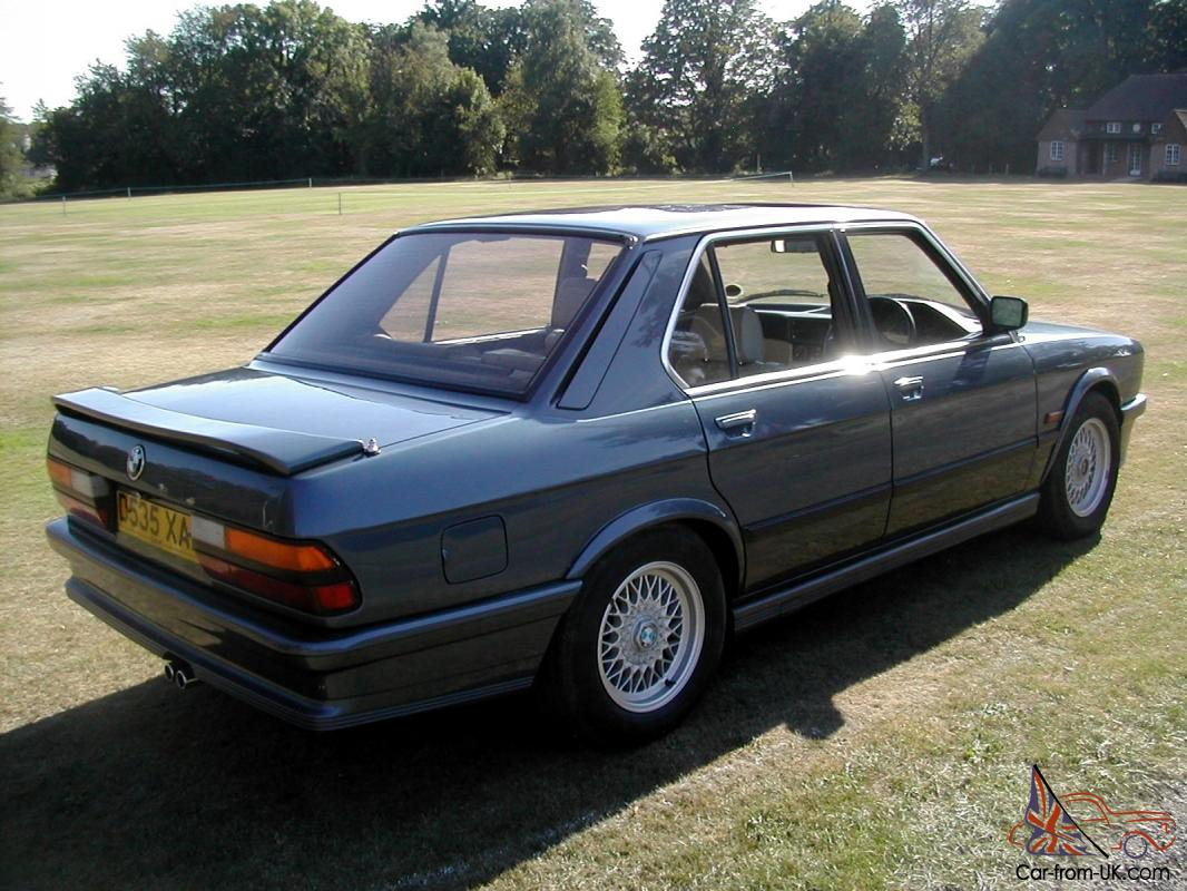 1986 d bmw m535i e28 manual full leather long mot nice driving example. Black Bedroom Furniture Sets. Home Design Ideas