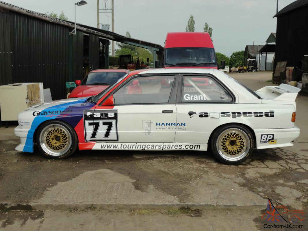 bmw e30 m3 group n/ production race car bodyshell