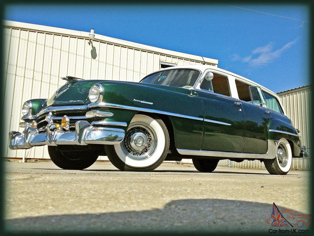 reserve 1953 chrysler town and country wagon beautiful car for sale. Cars Review. Best American Auto & Cars Review