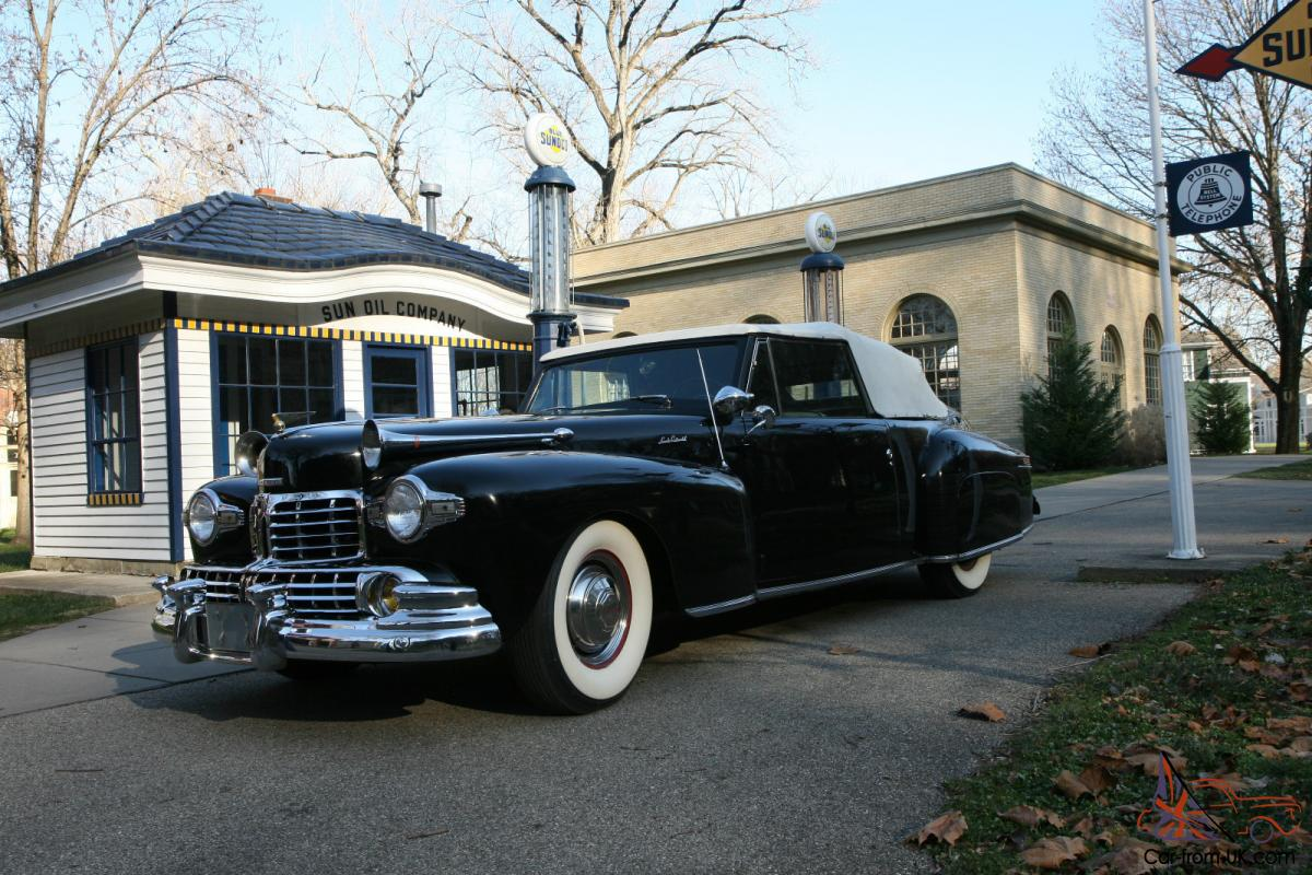 George Hurst First Street Rod Conversion 1946 Lincoln Continental