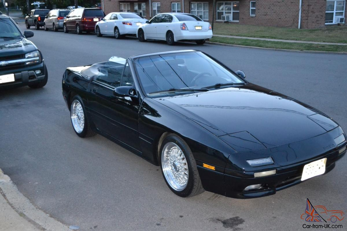1989 mazda rx 7 convertible convertible 2 door 1 3l for sale