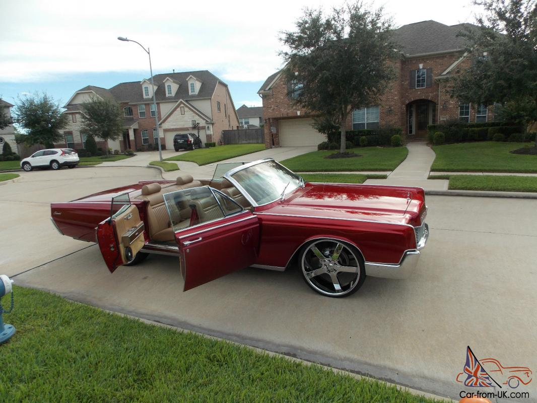 1967 Lincoln continental convertible doors