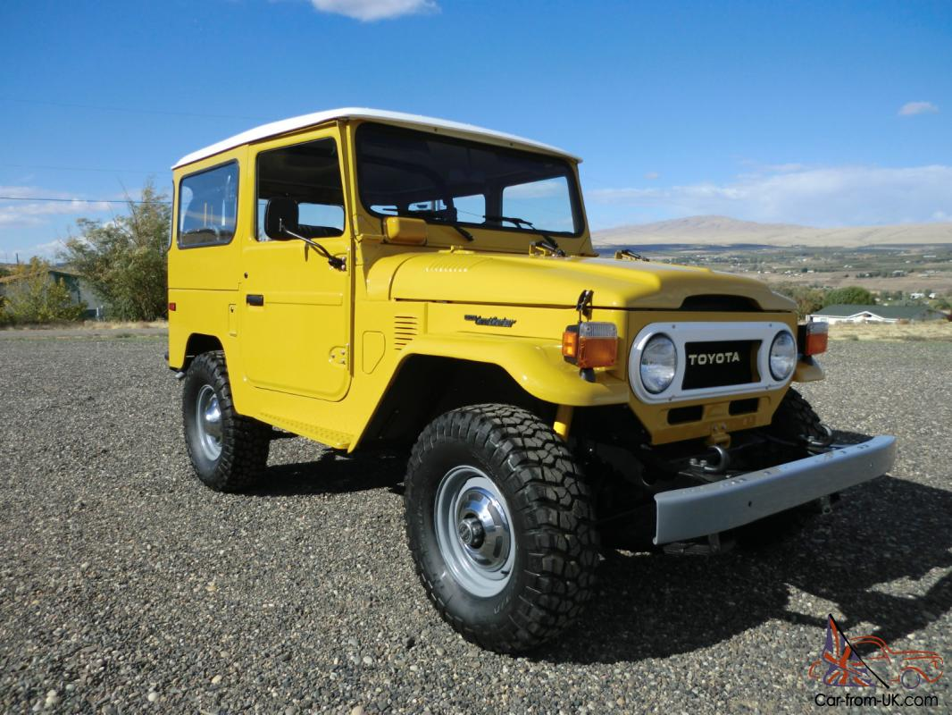 1975 Toyota Land Cruiser Fj40 Mint Restoration Fj 40