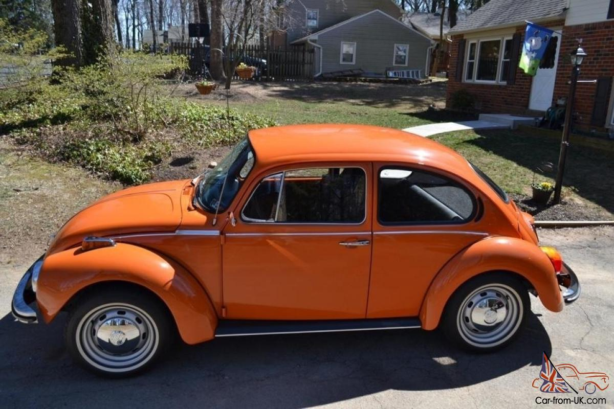 Fully restored 1973 classic beetle immaculate original owners manual included