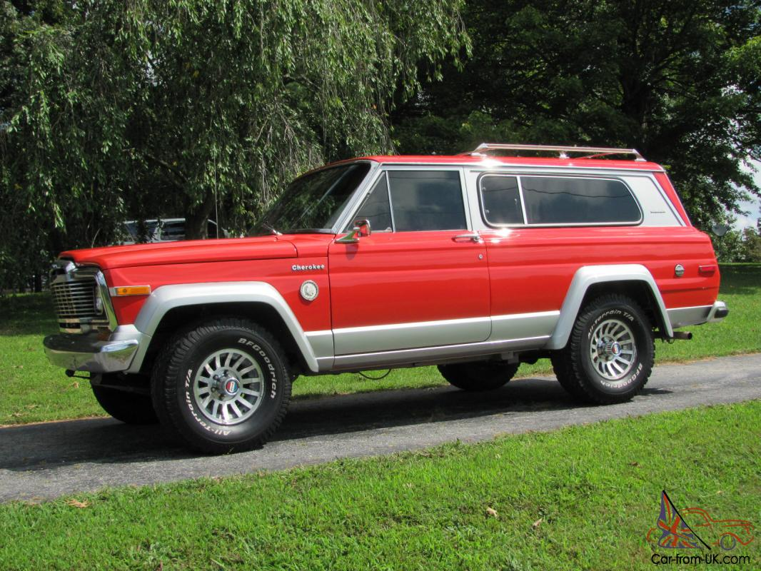 rare classic 1979 jeep cherokee chief s model