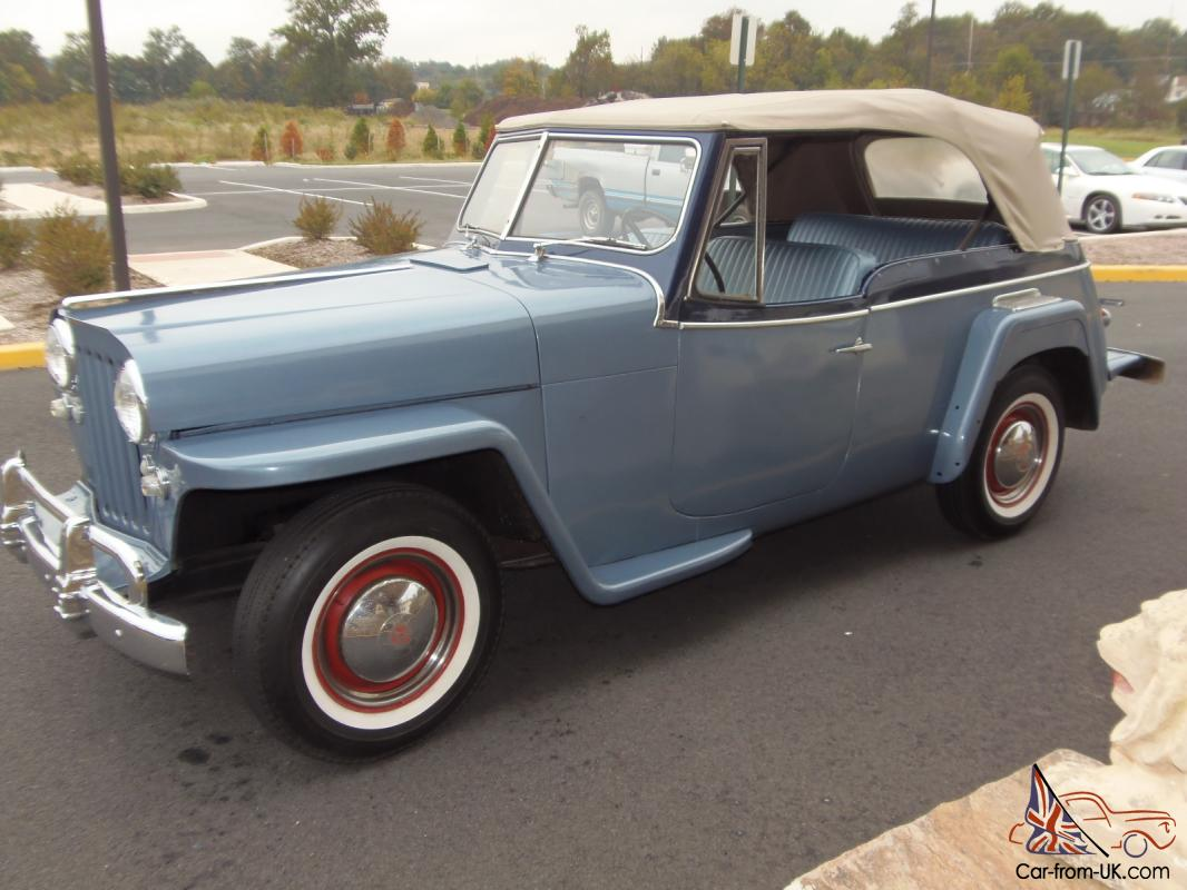 1950 Jeep Willys Jeepster 2 4l