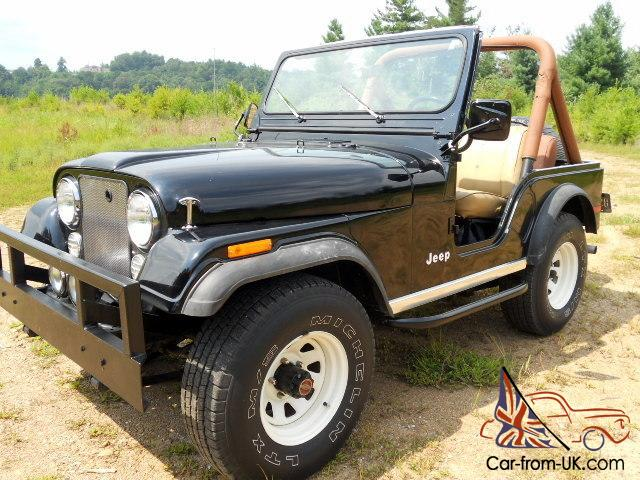 Restored Jeep Cj 5 4x4 Factory V 8 Beautiful Classic With