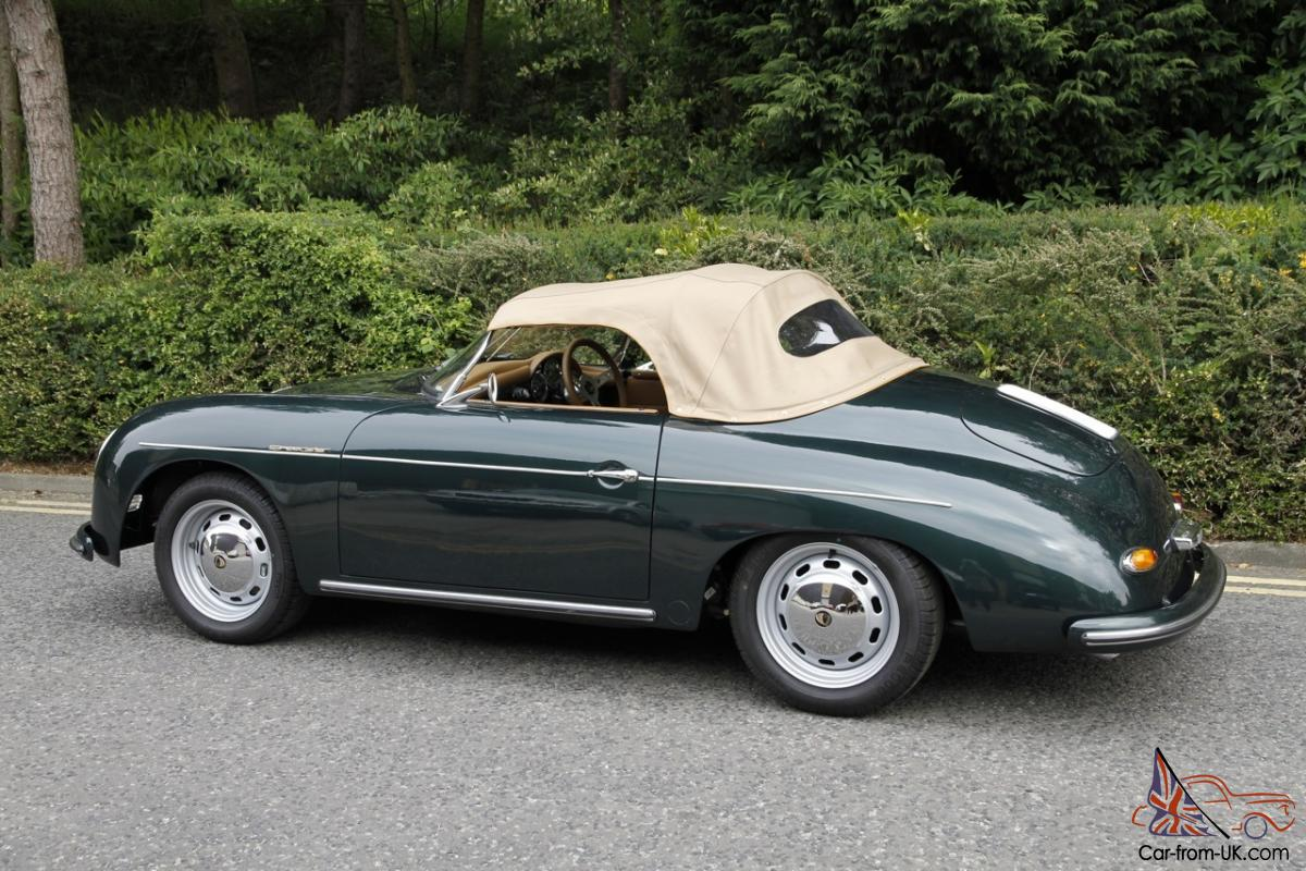 Chamonix Porsche 356 Speedster 1956 Replica Green New