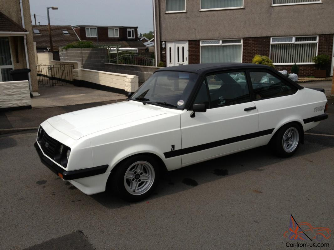 escort mk2 rs2000 for sale