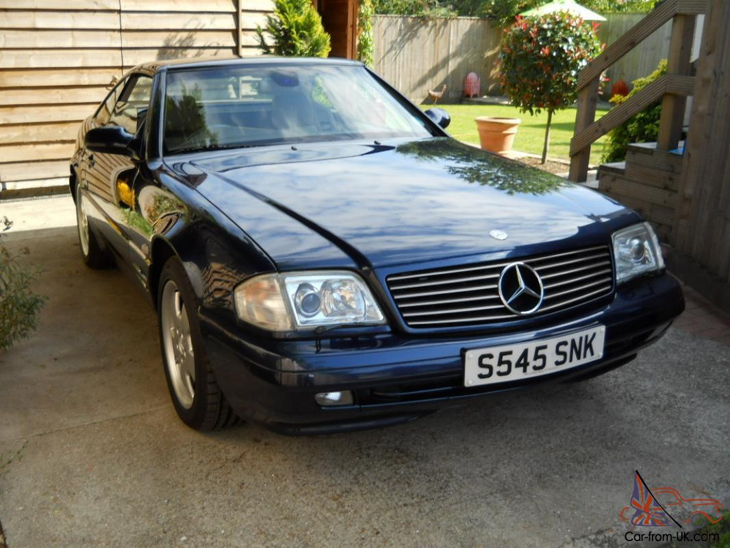 Classic mercedes sl320 convertible with full panoramic for Classic mercedes benz for sale ebay