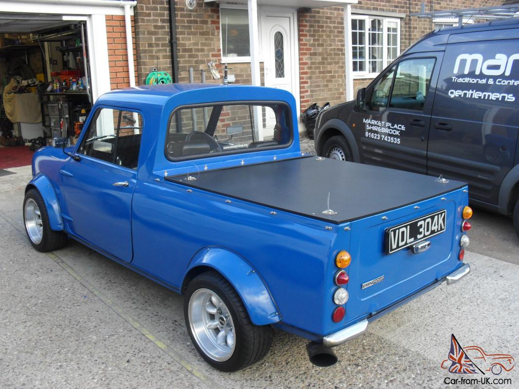 classic mini pickup 125 bhp. Black Bedroom Furniture Sets. Home Design Ideas