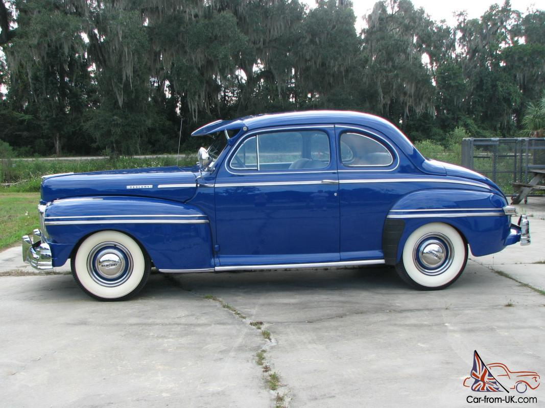 1948 mercury restored original eight coupe. Black Bedroom Furniture Sets. Home Design Ideas