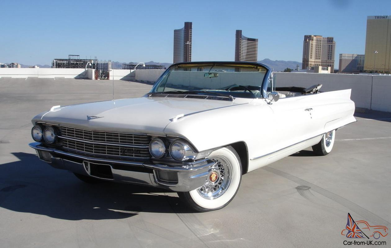 1962 cadillac deville 62 series convertible v 8 loaded nevada car1962 cadillac deville 62 series convertible v 8 loaded nevada car triple white
