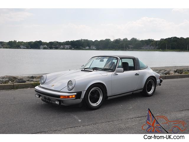 1980 porsche 911 sc targa silver blue 60k. Black Bedroom Furniture Sets. Home Design Ideas